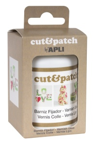 Cut&patch - lepidlo na ubrouskovou techniku 100ml transparentní