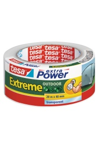 Opravná páska extra power extreme outdoor 20m x 48mm uv odolnost 1 rok transparentní